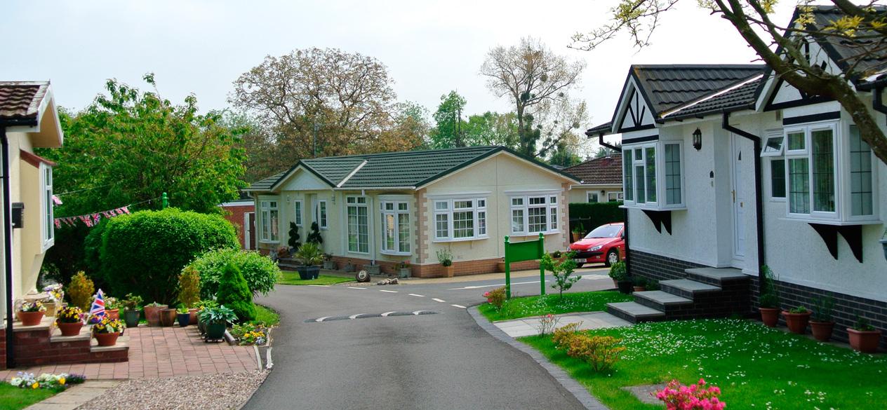 retirement home on park
