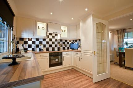 Kitchen in Wheatfield Park Home